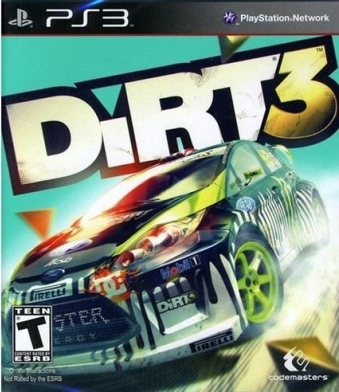 Jogo Dirt 3 Playstation 3 Ps3 Original Corrida Frete Grátis