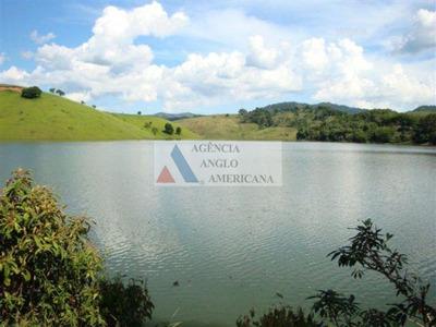 Chácara Rural À Venda, Divisa Com A Fazenda Votorantim, Redenção Da Serra - Ch0004. - Aa12697