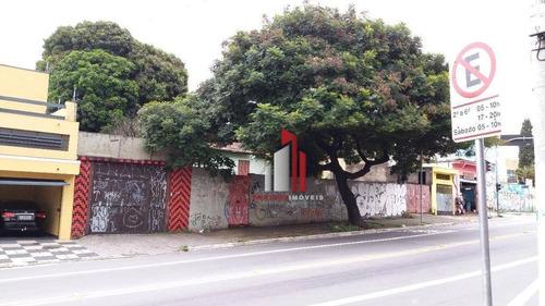 Terreno À Venda, 1352 M² Por R$ 3.820.000,10 - Jardim Guarani - São Paulo/sp - Te0024
