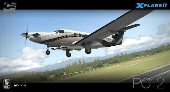 Carenado Pilatus Pc-12 Para X-plane 11