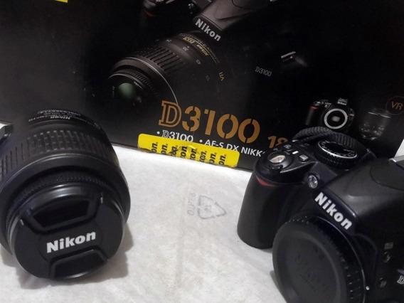Camara Nikon D3100 Lente Bateria Caja Factura Garantia