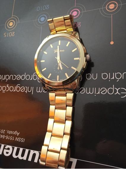 Relógio Genova Dourado