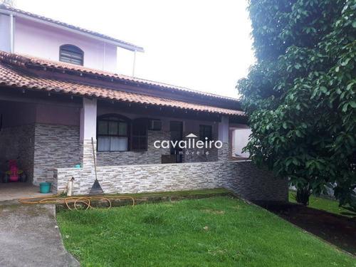 Casa Residencial À Venda, Condado De Maricá. - Ca3107