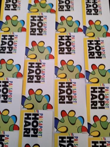 Combo 7 Passaportes Hopi Hari Oficial