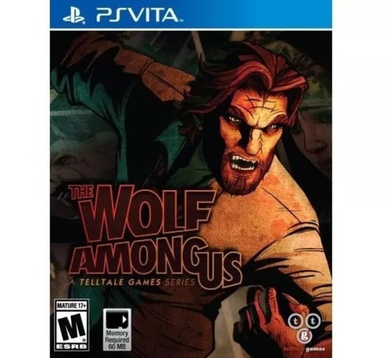 Jogo Sony Psvita The Wolf Among Us Telltale Games Lacrado