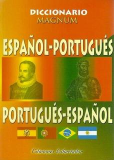 Diccionario Español Portugués - Magnum
