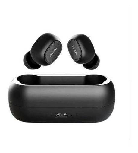 Fone Qcy T1c Pro Preto Wireless Bluetooth Stereo 5.0