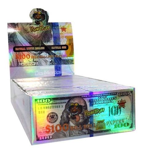 Caixa De Seda Dólar Honeypuff