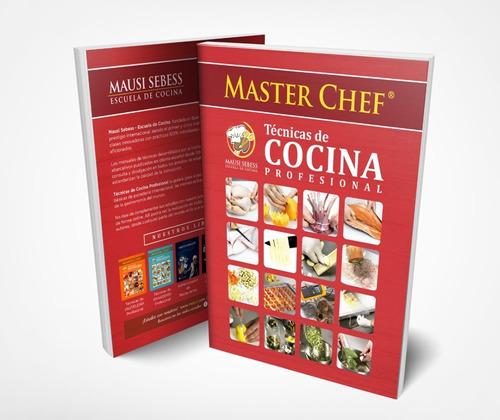 Imagen 1 de 6 de Libro De Técnicas De Cocina Masterchef Mausi Sebess