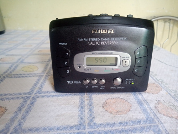 Walkman Aiwa Tx646 Funcionando