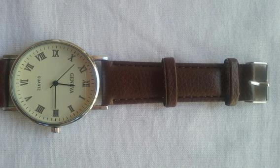 Relógios Geneva De Pulseira De Couro.