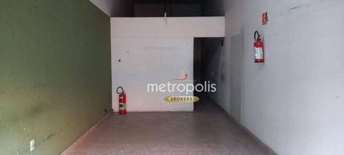 Imagem 1 de 5 de Salão Para Alugar, 60 M² Por R$ 1.700,00/mês - Centro - São Caetano Do Sul/sp - Sl0401