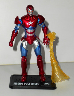 Marvel Universe - Iron Patriot (#19) - Hasbro - Completo
