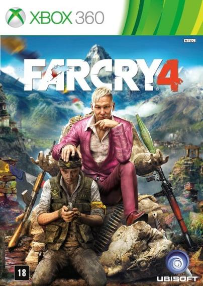 Jogo Far Cry 4 ( Game Semi-novo Testado Por Nossa Equipe )