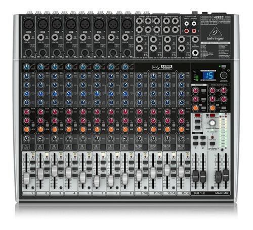 Mezcladora Mixer Behringer Xenyx X2222usb + Garantía