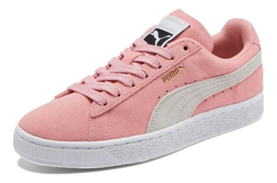 Tênis Feminino Puma Suede Classic Rosa Original