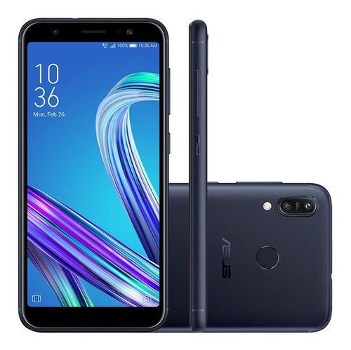 Celular Smartphone Asus Zenfone Max M3 Zb555kl 64gb Preto - Dual Chip
