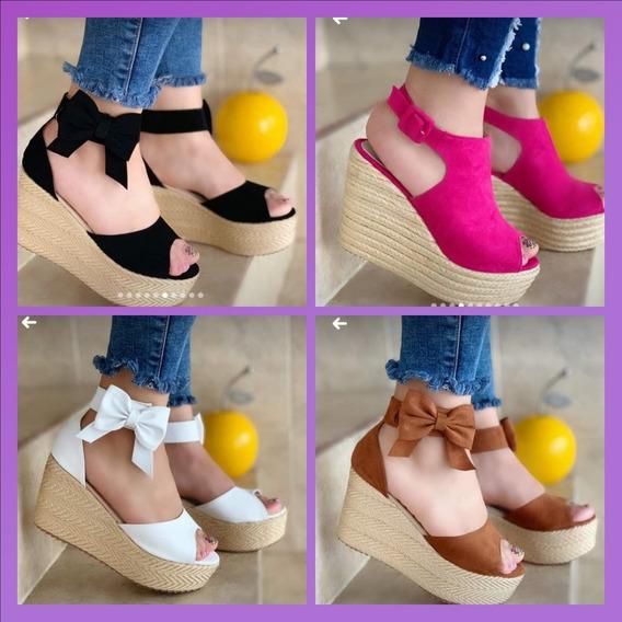 Sandalia Plataforma Zapatos De Tacon Y Sandalias Bajitas