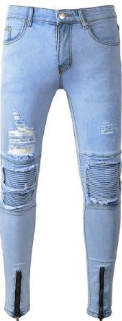 Pantalones Con Rotos Y Parches Pantalones Y Jeans Para Hombre 28 Jean En Mercado Libre Mexico
