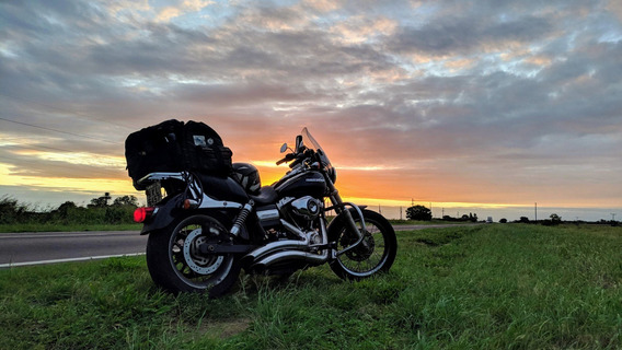 Harley Davidson Super Glide Custom Stage 2