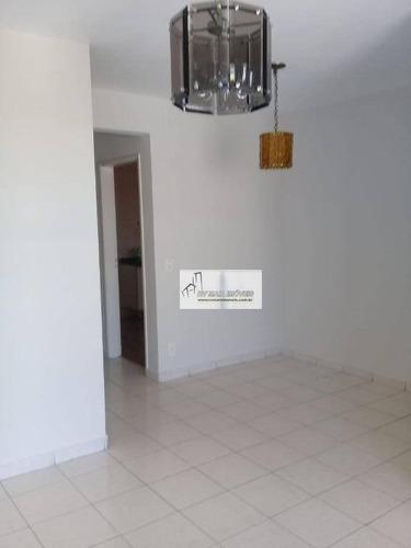 Apartamento Com 3 Dormitórios Para Alugar, 72 M² Por R$ 1.100,00/mês - Jardim Simus - Sorocaba/sp - Ap1114