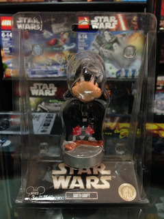Star Wars Goofy Darth Vader Disney Star Tours Bobble Head