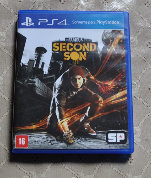 Infamous Second Son - Ps4 Midia Fisica
