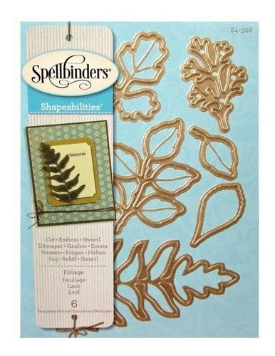 Shapeabilities Foliage Etched/wafer Thin Dies