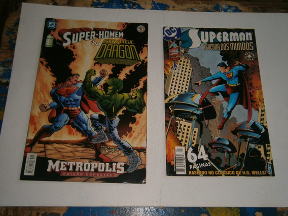 Superman - Series Especiais Antigas E Raras Completas