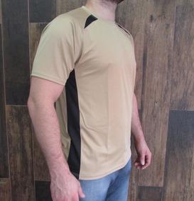 Kit 5 Camisetas Dry Fit Com Recortes Vibrantes