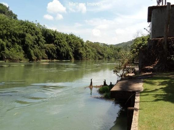 Chácara As Margens Do Rio Paraíba Em Santa Branca-sp - Ch32 - 34466449