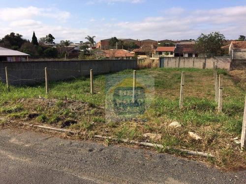 Imagem 1 de 9 de Terreno À Venda, 448 M² Por R$ 330.000,00 - Vila Bancária - Campo Largo/pr - Te0026