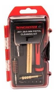 Kit De Limpieza Winchester Pistola 9/38/357 14 Piezas