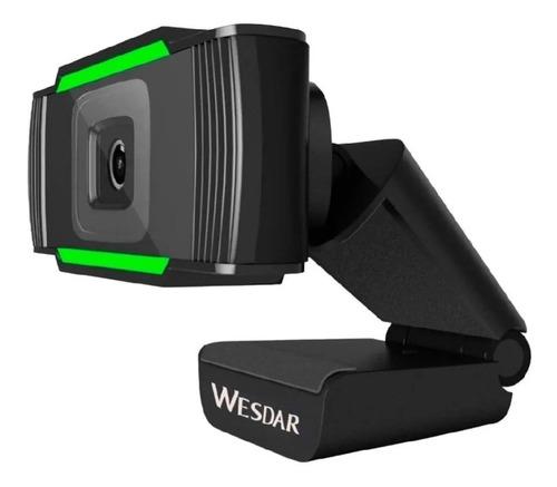 Camara Web Webcam Usb Pc Full Hd 1080p Plug & Play Microfono