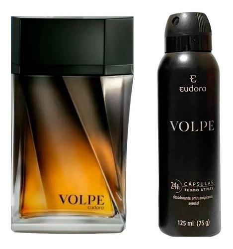 Deo Colônia Volpe + Desodorante Masculino Eudora