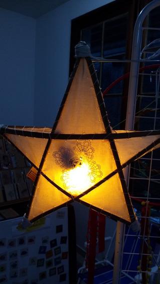 Luminária Rústica Estrela