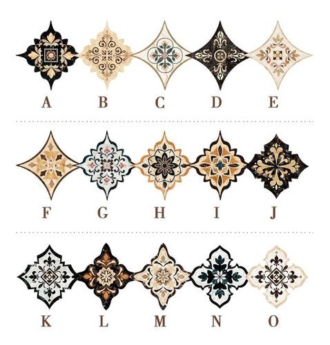 21 Pegatinas Decorativas Para Azulejos Diagonales Autoadhesi