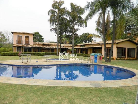 Casa Com 6 Dormitórios Para Alugar, 690 M² Por R$ 13.000/mês - Fazenda Vila Real De Itu - Itu/sp - Ca1834
