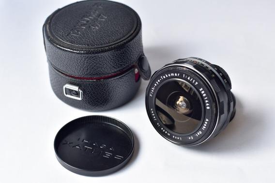 Pentax Fish-eye-takumar Asahiopt.co 17mm F4 No.2861448 - M42