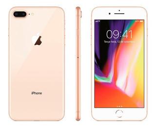 iPhone 8 Plus Dourado Gold 64gb Anatel Lacrado
