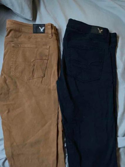 Par De Pantalones American Eagle Para Mujer