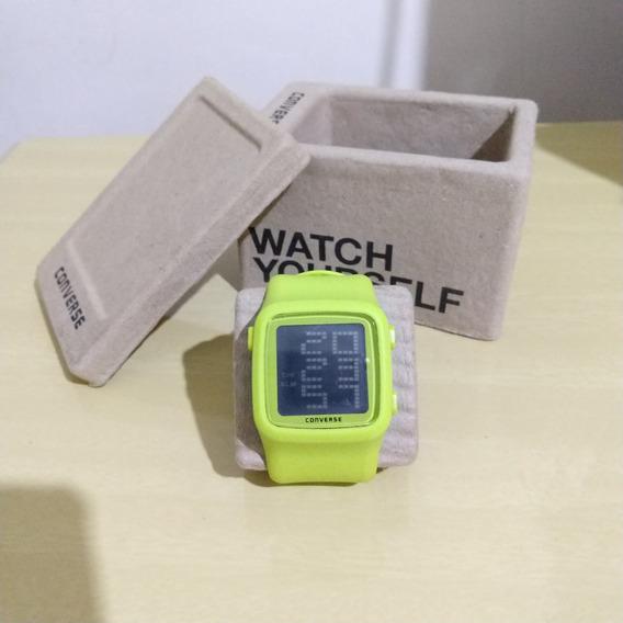 Relógio Converse Neon