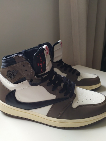 Tênis Air Jordan 1 Travis Scott Cactus Jack