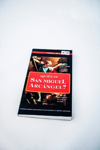Libro  Quien Es  San  Miguel Arcangel
