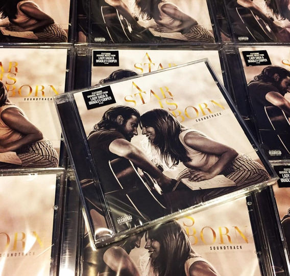 Lady Gaga A Star Is Born Bradley Cooper Cd Nuevo En Stock