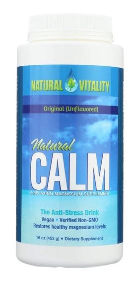 Natural Vitality Natural Calm Original Sin Sabor 453g