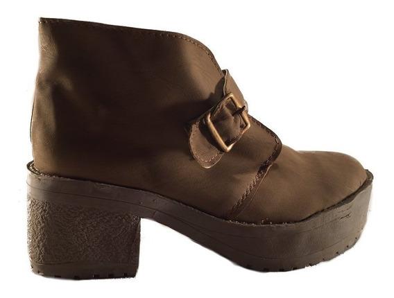 Bota Baja Hebilla Nena Obvio En Shoestore