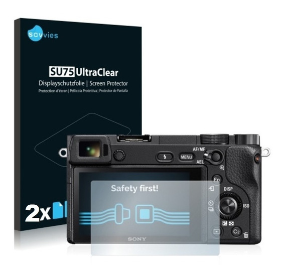 2 Peliculas P Lcd Sony Alpha A6000 A3000 A6100 A6300 A6500