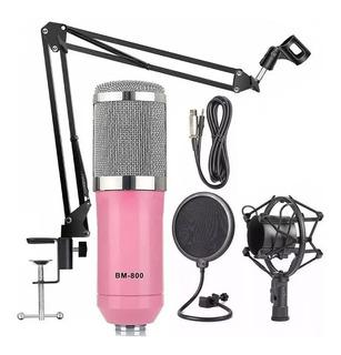 Microfono Diseño Doble Capa Condenser Youtube Stream Estudio