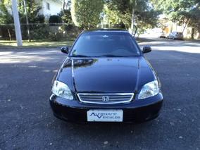 Honda Civic Lx Automático Raridade Real Estado De Ok 2000
